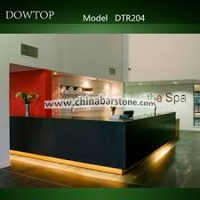 Spa Reception Desk Dtr204 Commercial Modern Spa Reception Desk View Spa Reception