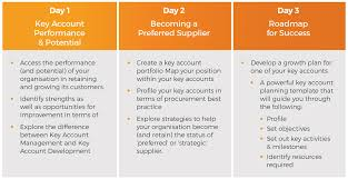 key account template imi growing key accounts
