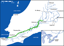 thames river map europe map canadian heritage rivers system canada s national river