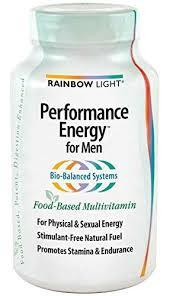 rainbow light vitamins mens 1 bott rainbow light men s performance energy multiple click image
