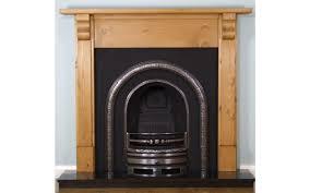 lytton and pine corbel surround wooden fireplace