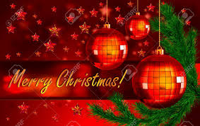 background with the words merry greetings
