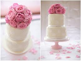 Edible Eyes Cake Decorating Edible Eye Candy V14 A Dainty Wedding Cake With Pink Flowers