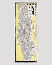 Bloomingdales New York Map by Kate Spade New York New York Map Scarf Lyst