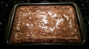 double chocolate gooey butter cake