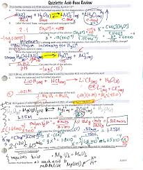 acid and base worksheets with answers acid and base worksheets