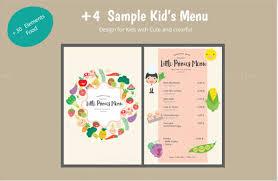sample menu template food catering sample menu template free