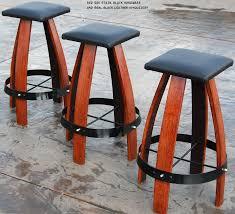 Wine Barrel Rocking Chair Plans Wine Barrel Bar Stools Wine Country Pinterest Wine