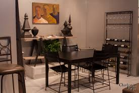 crate and barrel parsons dining table the art of furniture charleston forge handmade metal furniture