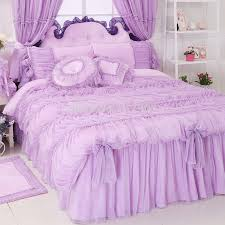 Wedding Comforter Sets Skirt Orange Picture More Detailed Picture About Luxury Lavender