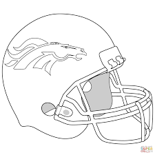 denver broncos coloring page downloads online coloring page 8559