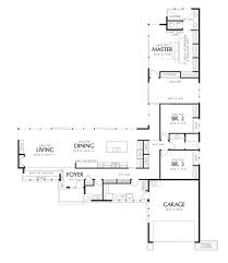 modern style house plan 3 beds 2 50 baths 2498 sq ft plan 48 561