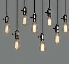 Edison Pendant Light Minimalist Creative And Vintage Bulb Pendant Lights With St64