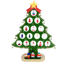 wooden desktop ornaments mini tree small diy wood