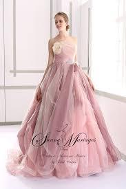 robe de mari e princesse pas cher robe de mariée princesse couleur poudré mariage