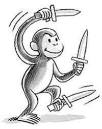 you grab the monkey we u0027ll bring the knife feature san