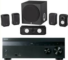 sony home theater 5 2 sony 5 2 channel 725 watt 4k a v home theater receiver yamaha