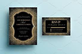 wedding invitations gold gold glitter wedding invitation invitation templates creative