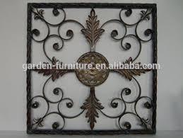 home decor rustic fleur de lis antique iron window grill design