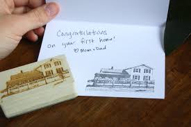 custom house stamp house photo stamp house address stamp