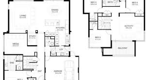 4 modern house floor plans with dimensions house plans by cost to