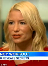 i was feminized by a short hair blonde has tracy anderson gone too far yellow hair plumped lips and