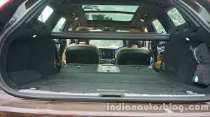 lexus suv boot space volvo v90 cross country additional boot space indian autos blog