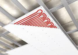 pannelli radianti soffitto climatizzazione soffitto radiante