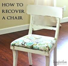 How To Upholster A Dining Room Chair Dining Room Upholstering Dining Room Chair Reupholster Dining