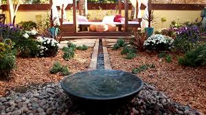backyard stream creates calm video diy
