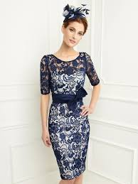 dress and jacket for wedding online get cheap navy lace dress with bow and jacket aliexpress