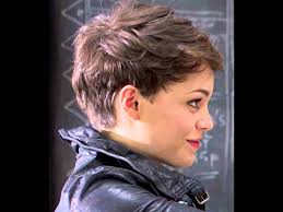 pixie haircut for round face youtube