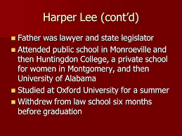 harper lee birthday queens library on twitter intro to the novel