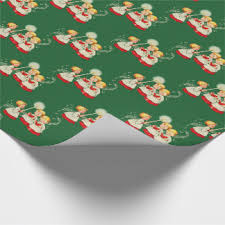 vintage christmas wrapping paper retro christmas wrapping paper zazzle