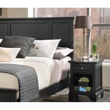 home styles bedford queen wood panel headboard u0026 nightstand set in