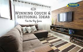 Big Game Room - living room couch and sectional ideas for the big game