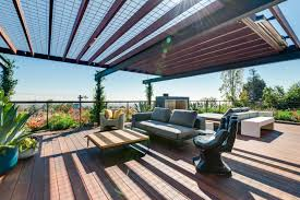 cantilevered deck photo 12 of 15 in a renovated harry gesner designed midcentury in