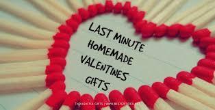 valentine gifts ideas best gift idea urgent homemade valentines gifts last minute ideas