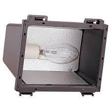 86050b 10 one light outdoor flood light bronze
