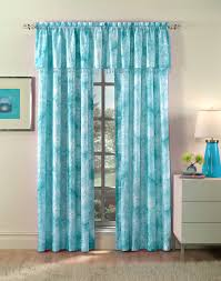 108 Inch Curtains Walmart by Bathroom Interesting Tabtop Turquoiseturquoise Basic Solid Tab