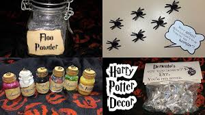 diy harry potter halloween decor youtube