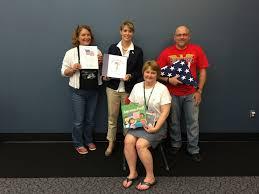 Flag Etiquette Veterans Visit Pre Schoolers At Guthrie Memorial Library For Flag