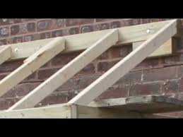 How To Build A Two Story Garage by How To Do A Small Pitched Roof Youtube