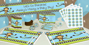 monkey decorations for baby shower some with monkey boy baby shower ideas big dot of happiness