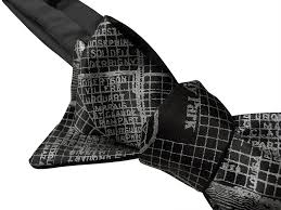 New Orleans Maps by New Orleans Map Bow Tie By Cyberoptix