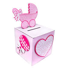 baby shower gift card box baby shower decoration