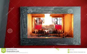 video shooting a modern fireplace stock footage video 68774510