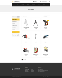 construct construction u0026 building business psd template by