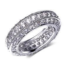 Beautiful Wedding Rings by Aliexpress Com Buy Beautiful Wedding Rings Setting Cubic Zircon