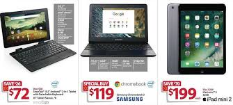 2017 black friday best laptop deals walmart black friday ad features 199 apple ipad mini 2 119